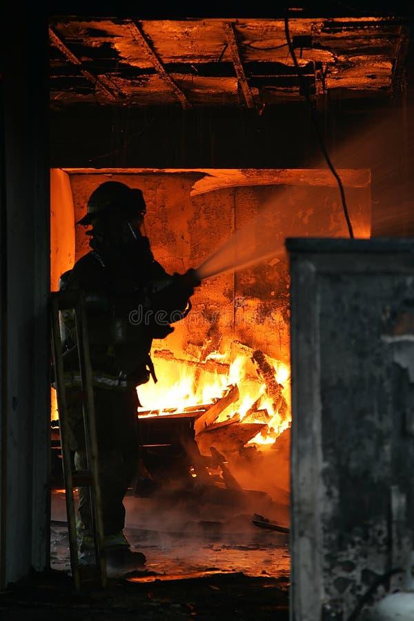 εθελοντής πυροσβέστης στοκ εικόνα με δικαίωμα ελεύθερης χρήσης