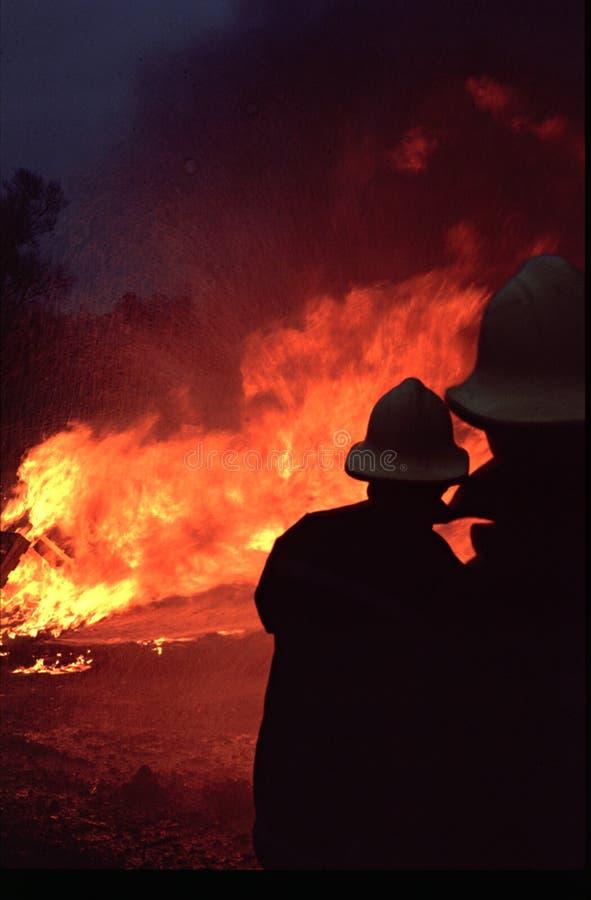 εθελοντείς πυροσβέστ&epsilo στοκ εικόνες με δικαίωμα ελεύθερης χρήσης