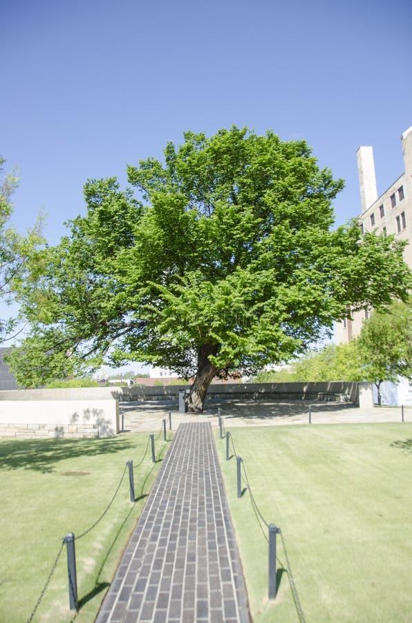Εθνικά μνημείο & μουσείο πόλεων της Οκλαχόμα στοκ φωτογραφία