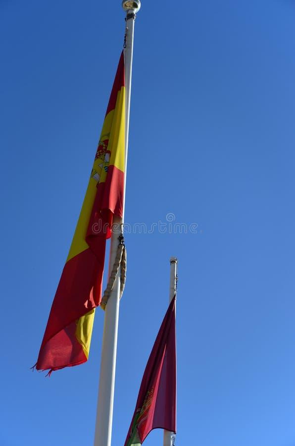 Εθνικά σύμβολα - σημαία στοκ εικόνες με δικαίωμα ελεύθερης χρήσης