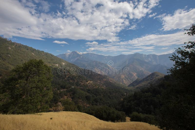Εθνικά τοπία πάρκων Yosemite στοκ εικόνες