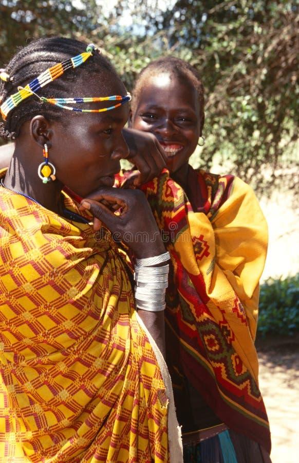 Εθνικές Karamojong γυναίκες, Karamoja, Ουγκάντα στοκ φωτογραφίες