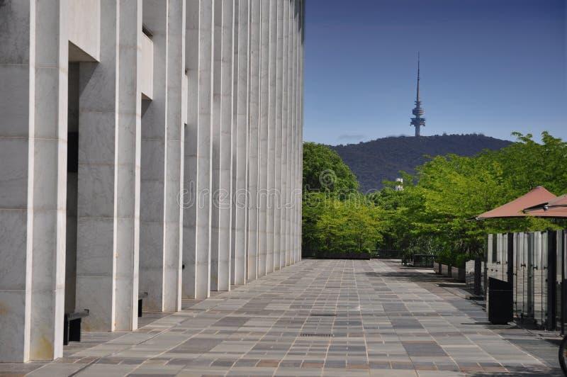 Εθνική βιβλιοθήκη Καμπέρρα στοκ εικόνες με δικαίωμα ελεύθερης χρήσης