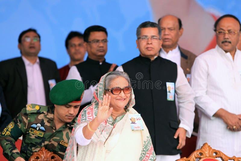 Εθνική διάσκεψη της ένωσης του Μπανγκλαντές Awami στοκ εικόνες