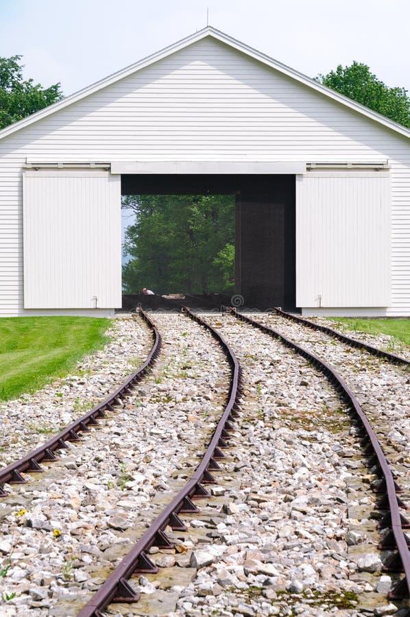 Εθνική ιστορική περιοχή σιδηροδρόμου Portage Allegheny στοκ εικόνα