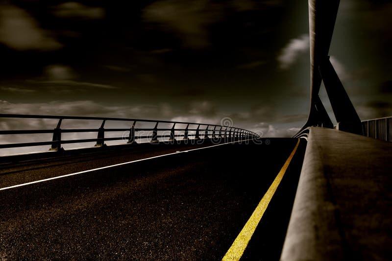 εθνική οδός κόλασης στοκ φωτογραφία