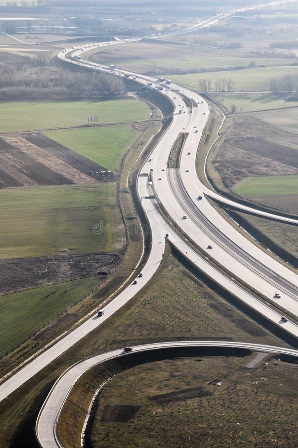 εθνική οδός ουγγρικά στοκ φωτογραφία