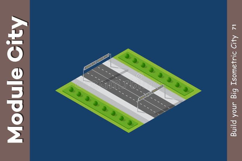 Εθνική οδός ταχύτητας τοπίων απεικόνιση αποθεμάτων