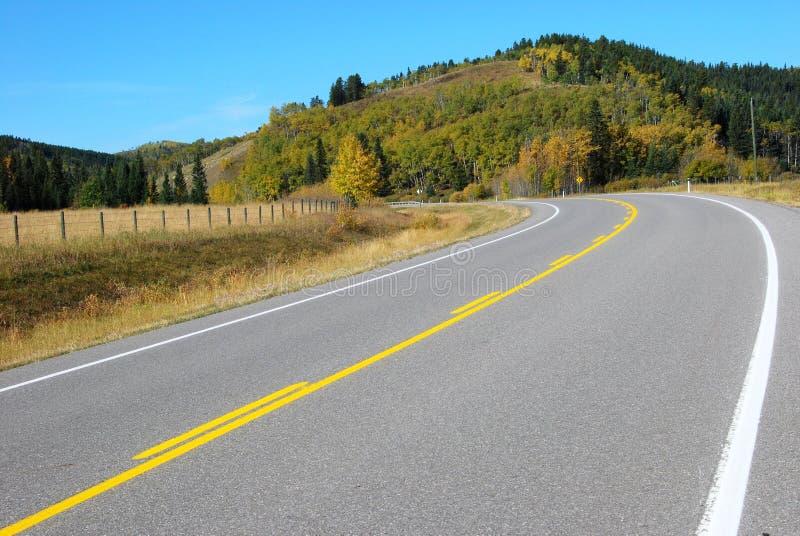εθνική οδός χωρών του Καν&alp στοκ φωτογραφίες