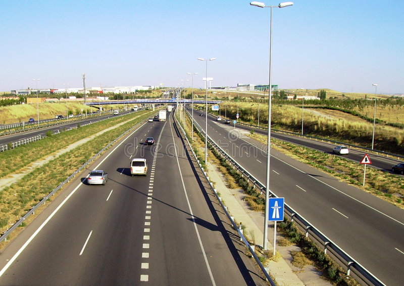 εθνική οδός στοκ εικόνες με δικαίωμα ελεύθερης χρήσης