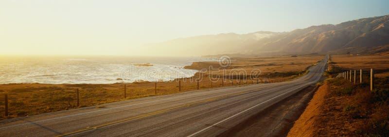 Εθνική οδός Pacific Coast στοκ φωτογραφία