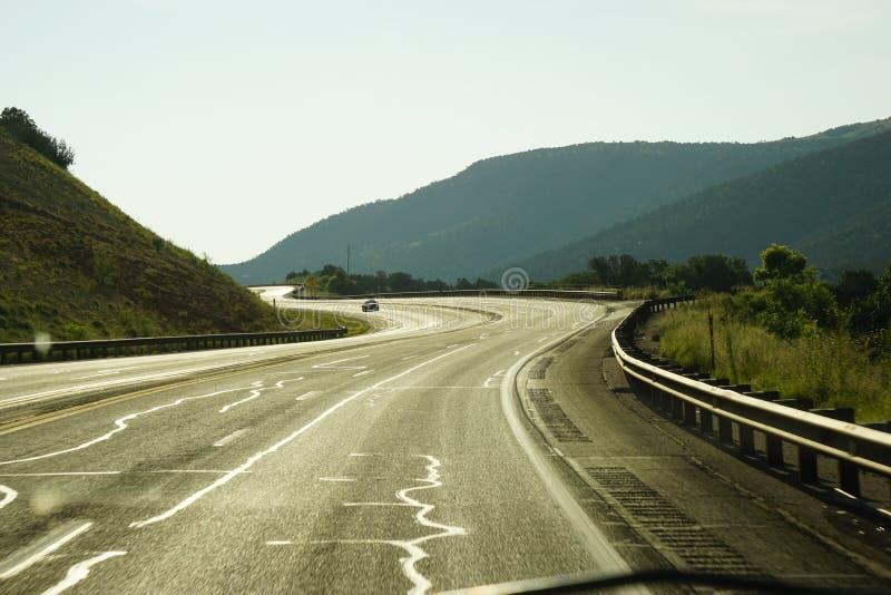 Εθνική οδός κοντά σε Ruidoso NM στοκ φωτογραφίες με δικαίωμα ελεύθερης χρήσης