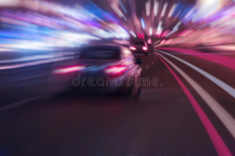 Εθνική οδός νύχτας στοκ εικόνα με δικαίωμα ελεύθερης χρήσης