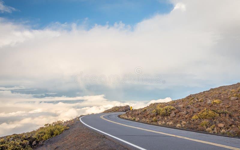 Εθνική οδός στους ουρανούς στοκ εικόνες
