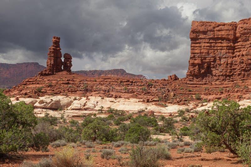 Εθνική περιοχή πάρκο-λαβυρίνθου Γιούτα-Canyonlands στοκ φωτογραφία