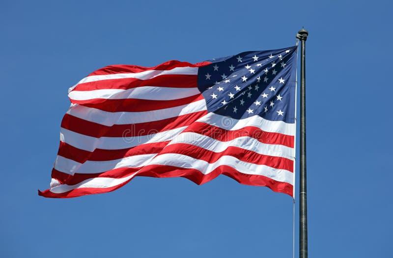 Εθνική σημαία ΗΠΑ στοκ εικόνα
