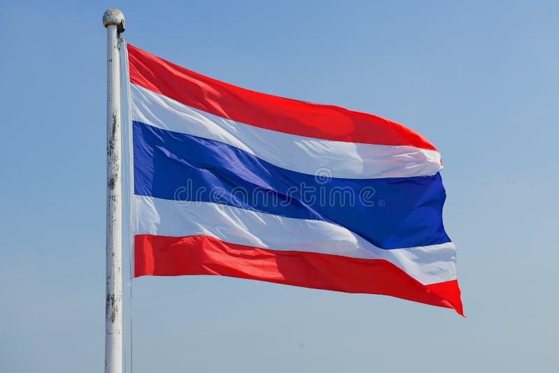 Εθνική σημαία στενού επάνω της Ταϊλάνδης στοκ φωτογραφίες