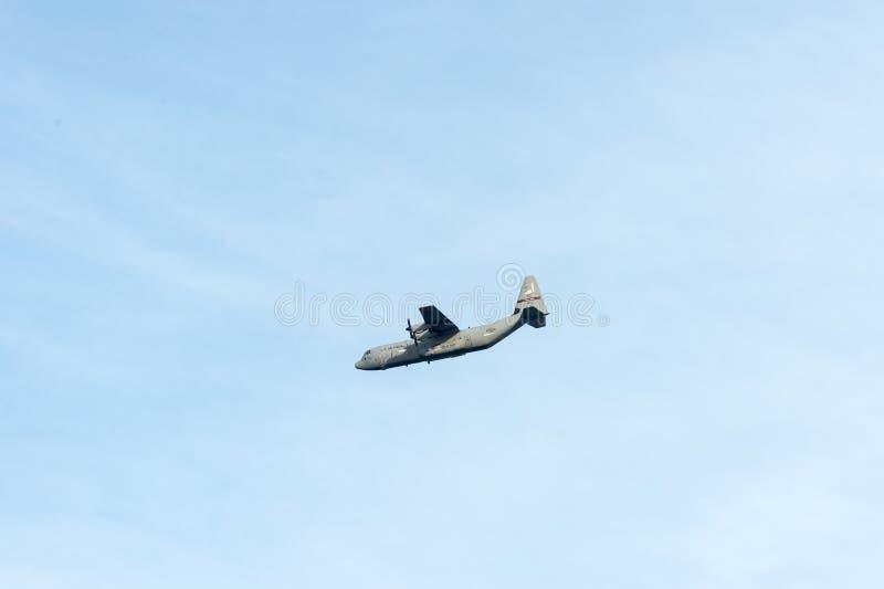 Εθνική φρουρά γ-130 αέρα Ρόουντ Άιλαντ στοκ εικόνα με δικαίωμα ελεύθερης χρήσης