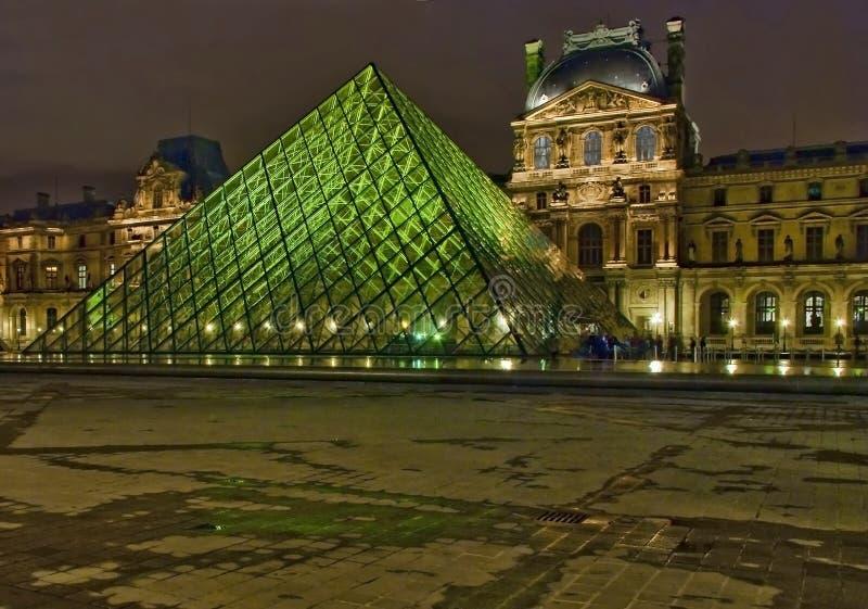 εθνική όψη του Παρισιού νύχ&ta στοκ φωτογραφίες