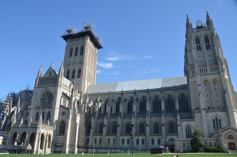 Εθνικός καθεδρικός ναός, Washington DC στοκ εικόνες