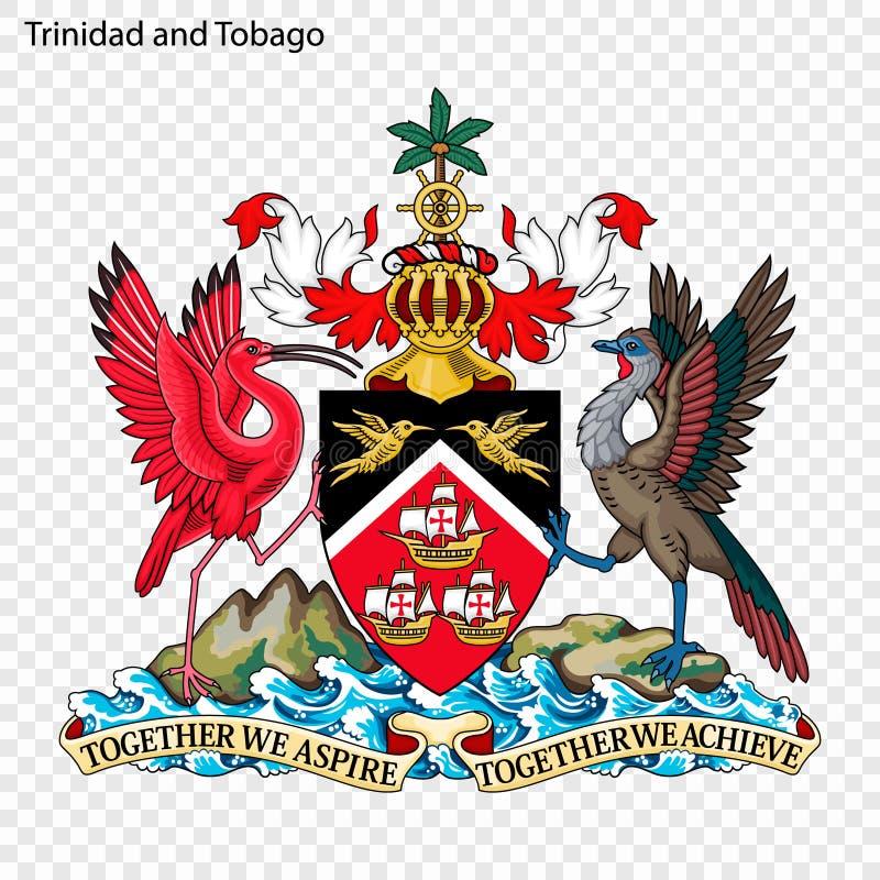 Εθνικό έμβλημα ή σύμβολο διανυσματική απεικόνιση