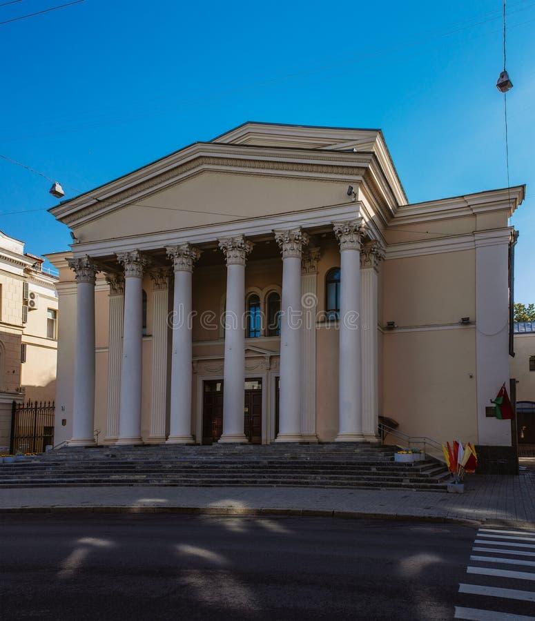 Εθνικό ακαδημαϊκό θέατρο δράματος που ονομάζεται μετά από το Γκόρκυ στοκ εικόνα με δικαίωμα ελεύθερης χρήσης