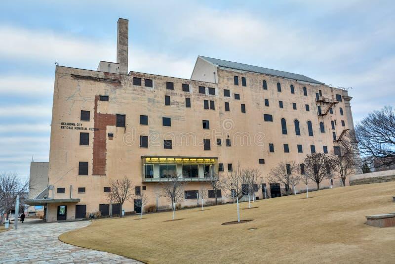 Εθνικό αναμνηστικό μουσείο Πόλεων της Οκλαχόμα στη Πόλη της Οκλαχόμα, ΕΝΤΆΞΕΙ στοκ φωτογραφία με δικαίωμα ελεύθερης χρήσης