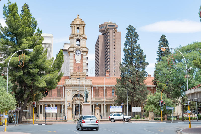 Εθνικό αφρικανολλανδική και λογοτεχνικό μουσείο Sotho στο Bloemfontein στοκ εικόνες