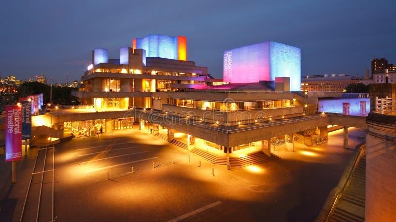 Εθνικό θέατρο στο Λονδίνο. στοκ εικόνες