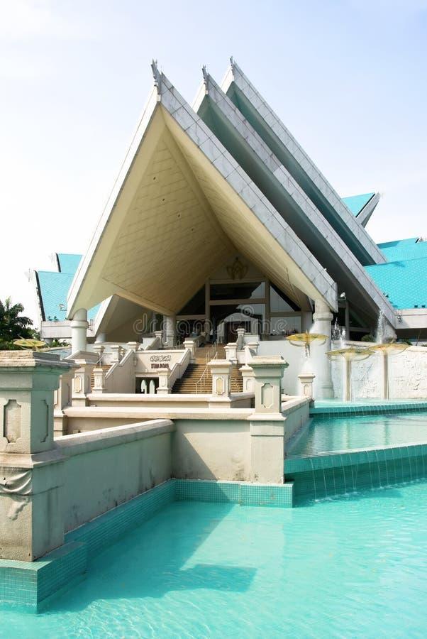 εθνικό θέατρο της Μαλαισίας istana budaya στοκ εικόνες με δικαίωμα ελεύθερης χρήσης