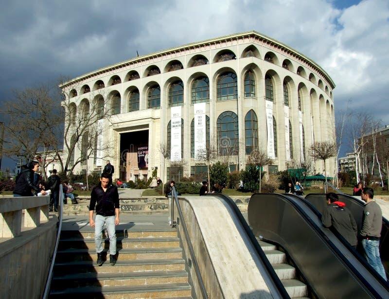 Εθνικό θέατρο του Βουκουρεστι'ου στοκ φωτογραφία με δικαίωμα ελεύθερης χρήσης