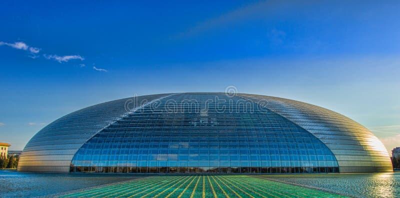 Εθνικό κέντρο του Πεκίνου στοκ εικόνες με δικαίωμα ελεύθερης χρήσης