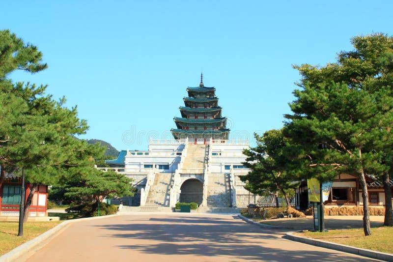 Εθνικό λαϊκό μουσείο της Κορέας στοκ φωτογραφία