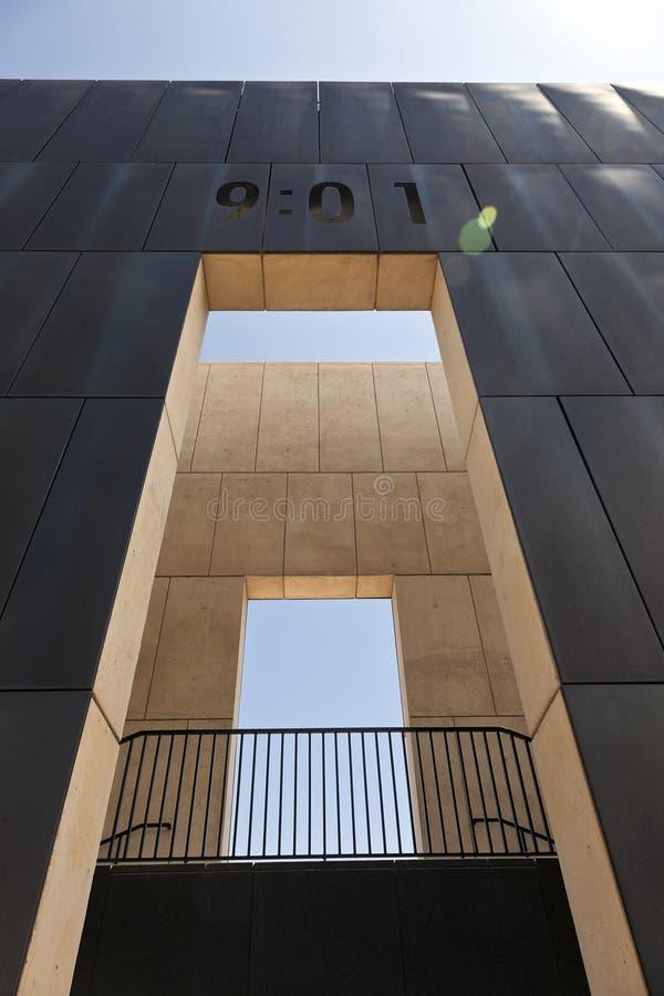 Εθνικό μνημείο Πόλεων της Οκλαχόμα στοκ εικόνες με δικαίωμα ελεύθερης χρήσης