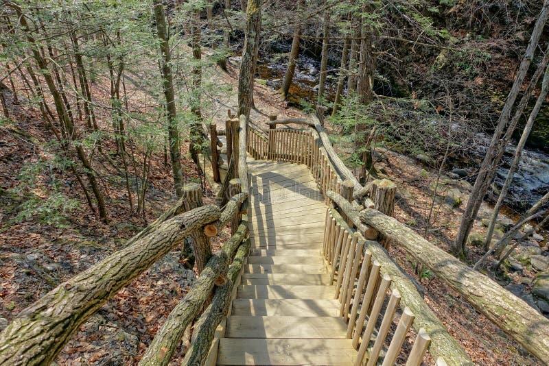 εθνικό μονοπάτι πάρκων yosemite στοκ φωτογραφίες