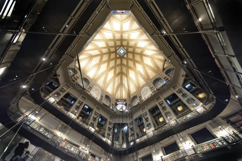 Εθνικό μουσείο κινηματογράφων του Τουρίνου στοκ εικόνα