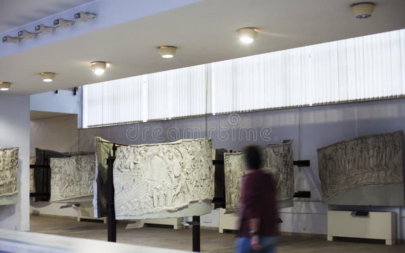 Εθνικό Μουσείο της ιστορίας - Βουκουρέστι στοκ εικόνες με δικαίωμα ελεύθερης χρήσης