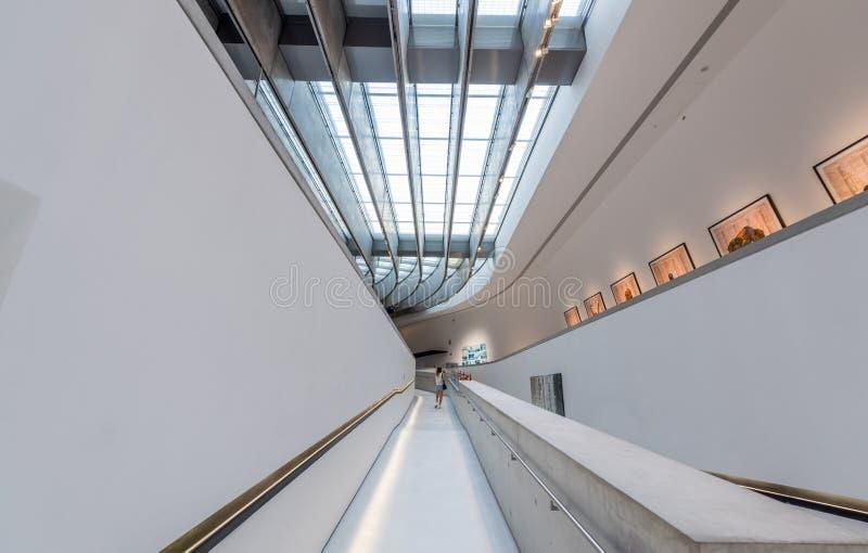 Εθνικό Μουσείο MAXXI ΧΧΙ τεχνών αιώνα - πού στοκ εικόνες με δικαίωμα ελεύθερης χρήσης