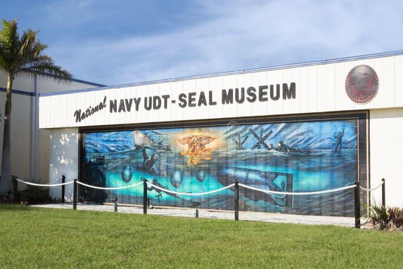 Εθνικό μουσείο udt-ΣΦΡΑΓΙΔΩΝ ναυτικού στοκ εικόνες