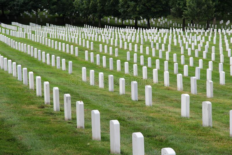 Εθνικό νεκροταφείο του Άρλινγκτον στοκ φωτογραφίες με δικαίωμα ελεύθερης χρήσης