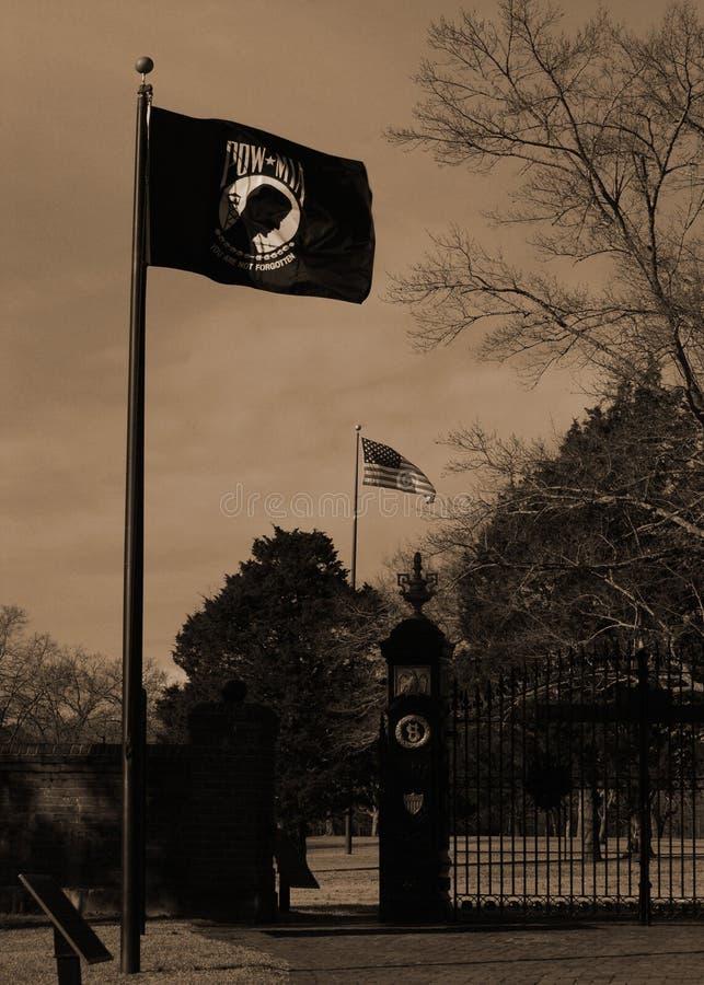 Εθνικό νεκροταφείο Shiloh στοκ φωτογραφία με δικαίωμα ελεύθερης χρήσης