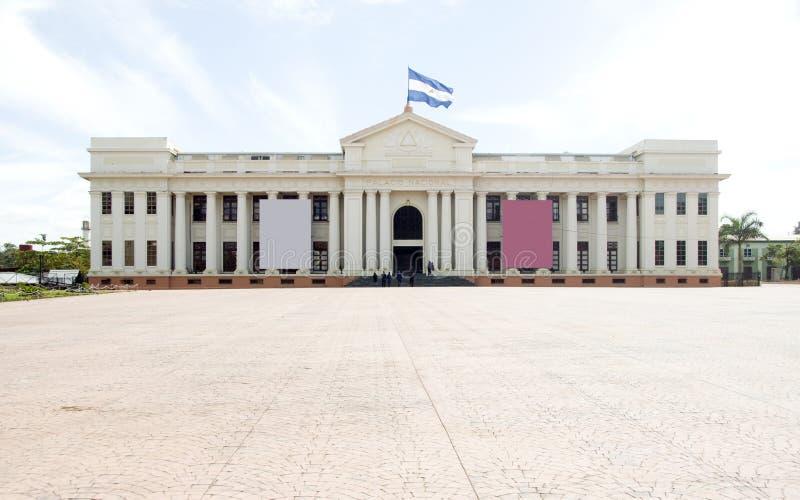 εθνικό Νικαράγουα παλάτι της Μανάγουα στοκ εικόνες