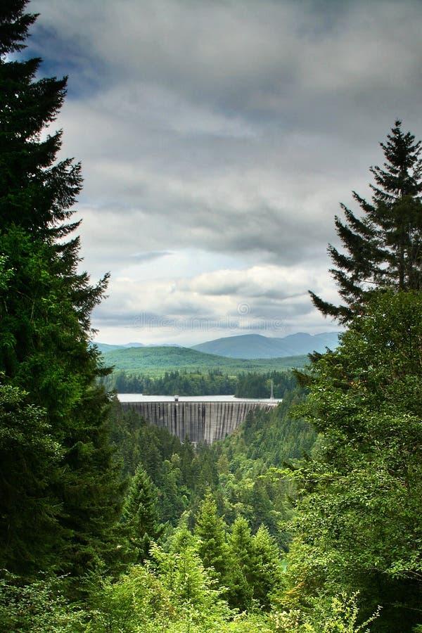 εθνικό πάρκο ΑΜ πιό βροχερό στοκ εικόνες