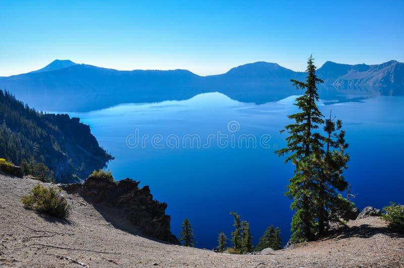 Εθνικό πάρκο λιμνών κρατήρων, Όρεγκον, ΗΠΑ στοκ φωτογραφίες
