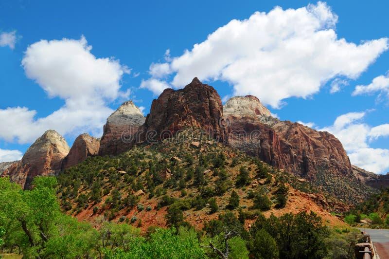 Εθνικό πάρκο ΙΧ Zion στοκ φωτογραφίες με δικαίωμα ελεύθερης χρήσης