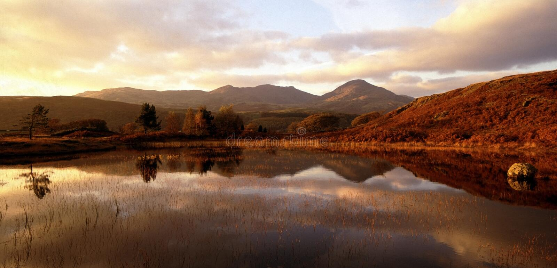 εθνικό πάρκο λιμνών περιοχής $cu στοκ εικόνες με δικαίωμα ελεύθερης χρήσης