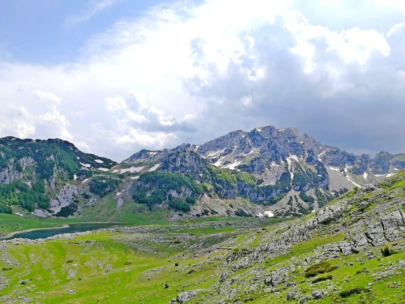 Εθνικό πάρκο Μαυροβούνιο Durmitor, στοκ φωτογραφία με δικαίωμα ελεύθερης χρήσης
