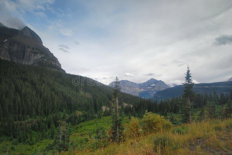 Εθνικό πάρκο παγετώνων στη Μοντάνα στοκ εικόνες με δικαίωμα ελεύθερης χρήσης