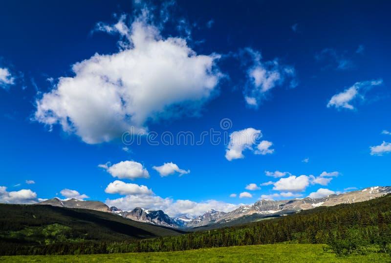 Εθνικό πάρκο παγετώνων στοκ εικόνα