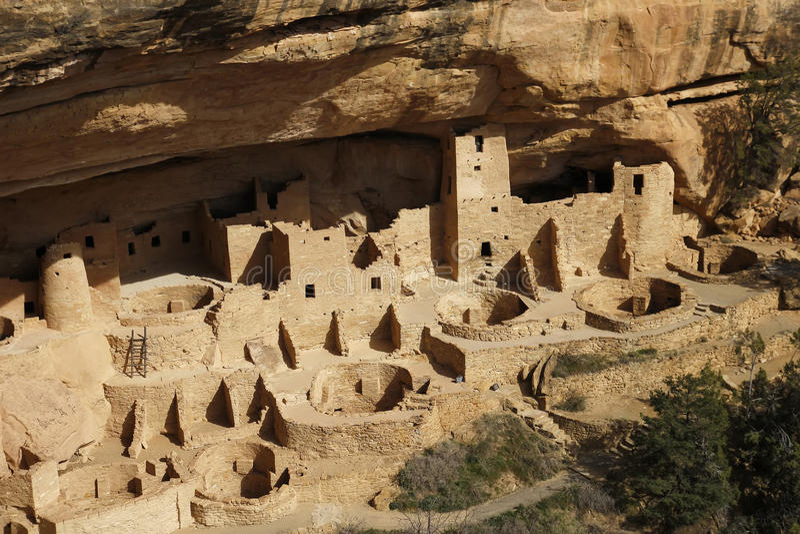 εθνικό πάρκο παλατιών mesa το&upsil στοκ φωτογραφία με δικαίωμα ελεύθερης χρήσης